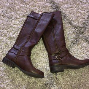 brown boots women